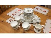 Tea set - 35 piece - bone china - Pall Mall wear