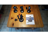 BT Graphite 2500 Cordless home phone + 3 extra handsets