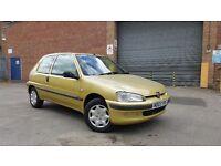 2003 Peugeot 106 1.1 Independence Full MOT Cheap Ideal First Car Corsa Saxo Clio Fiesta 206 Fiesta