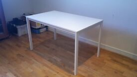 Modern white dining table for sale