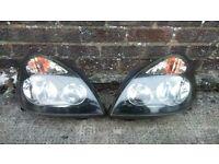 Mk3 (2004) renault clio headlights (pair)