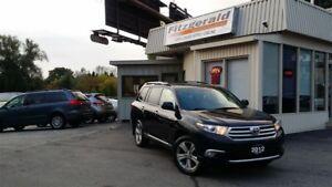 2012 Toyota Highlander V6 Limited - NAV! BACK-UP CAM! LEATHER!