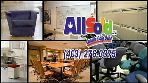 Calgary's Widest Selection of Used Office Furniture and Accessories
