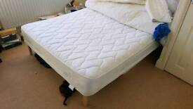 Silentnight Microcoil - Double bed - Frame and mattress