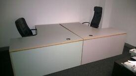 High quality office desks Grey