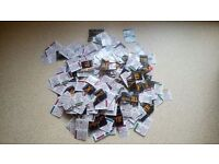 Mcdonalds Monopoly over 1000 stickers