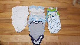 Boys First Size up to 9lbs Clothes Bundle