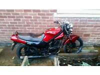 Hyosung gf 125 52 plate 4stroke currently sorn