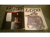 Zippo lighters ltd edition collectors manual 1 and 2