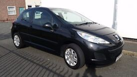 Peugeot 207 10 MONTHS MOT FULL SERVICE HISTORY MILEAGE 59000