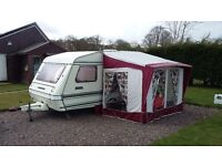 2 berth Omega Compass for sale with awning
