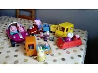 Peppa pig vehicles bundle