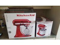 never used Kitchenaid Artisan 4,8l 5KSM156 olus icecream maker