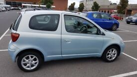 Toyota Yaris 2004 1.3 Silver, Genuine very low mileage, 1 year MOT,