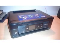 Printer EPSON XP-432, like new, no black ink cartridge.