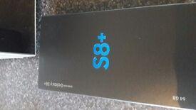 samsung s8 plus 64gb brand new sealed in box