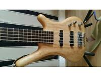 WARWICK STANDARD 5 STRING BASS MADE IN GERMANY (2009)