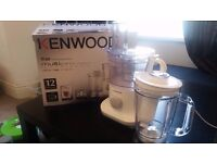 Kenwood MultiPro Compact Food Processor 750w as New
