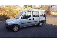 FIAT DOBLO JTD SX 1.9 DIESEL MPV 2002