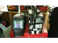 Gasless mig welder and electric welding mask