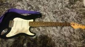 Stratocaster style electric guitar