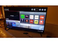 LG 55 SUPER SMART ULTRA HD IPS LED TV, Built-in Wifi,Freeview HD,Netflix, Excellent condition