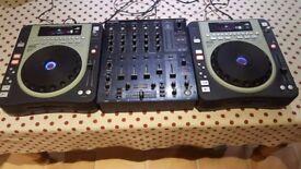 2 x Kool Sound CDJ 620 & Behringer DJX 750
