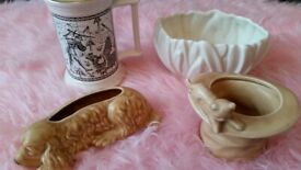 Sylvac Pottery collection - 4 items