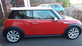 MINI COOPER, 2007, FSH, IMMACULATE WITH COOPER S EXTRAS