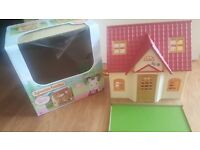 Sylvanian families cosy cottage dolls house