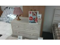 Limed Oak Chest of Drawers. BRITISH HEART FOUNDATION