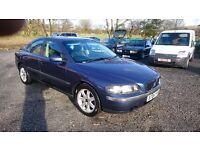 S 60 VOLVO AUTO 2000 cc TURBO PETROL 2004 £800