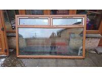 Brand New Light Oak Double Glazed UPVC Window and Door