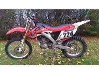 Honda CRF 250 X 2004 Engine Rebuilded ( 0h )