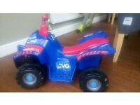 6v Evo electric quad bike
