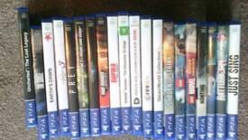 20 x PS4 games