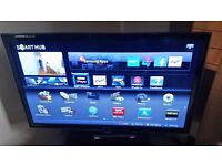 Samsung 37 inch LED Full HD Freeview Smart TV with ADDITIONAL Samsung Wifi Adaptor Dongle (RRP £40)