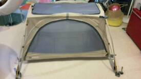 Littlelife Twin Arc Travel Cot in VGC