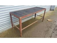 Work shop benches - service station