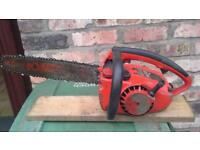 Homelite textron petrol vintage chainsaw in good condition