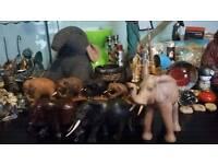 Various elephants