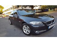 BMW 5 SERIES 520D 2013 4dr Step Auto SALOON 1 OWNER WITH SAT NAV AND LEATHER NOT PRIUS OR MERCEDES