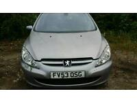 Peugeot 307 2003 petrol Breaking for parts