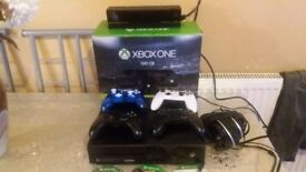 Xbox one 500gb 10 games