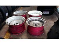 banded steel wheels 10x16 5x100