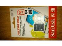 16gb scan disk memory sd card