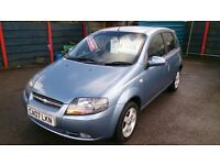 SOLD.LOW MILEAGE 2007 CHEVROLET KALOS 1.4 SX ONLY 39K F/S/HISTORY 8 STAMPS JUNE 2017 MOT CD ALLOYS +