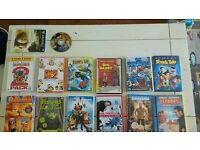 Collection of childrens dvds
