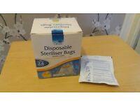 New Oasis disposable steriliser bags