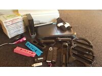 Nintendo Wii bundle with 12 games